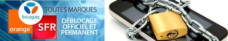 Désimlocker votre mobile - SFR - Orange - Bouygues Telecom à partir de 10€